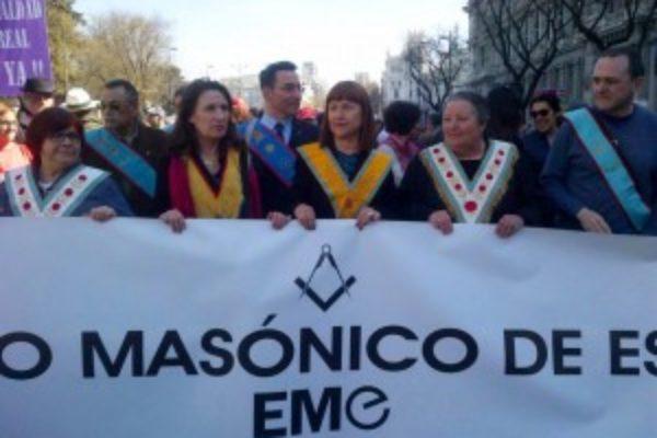 8 de marzo: La Francmasonería sale a la calle
